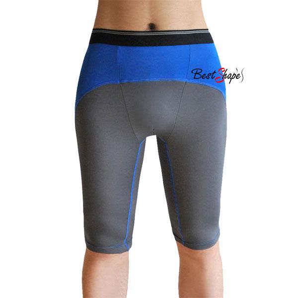 กางเกงออกกำลังกายผู้ชาย-Men-Fitness-สีเทาคาดฟ้า_MFBSHTG_1