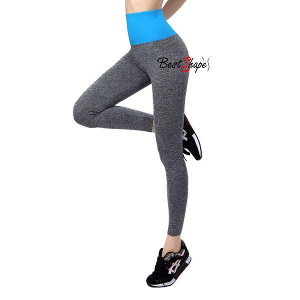 กางเกงออกกำลังกาย-ผู้หญิง-เล่นฟิตนิส-โยคะ-ขายาว-สีฟ้า_LEGGRY-BLU_1