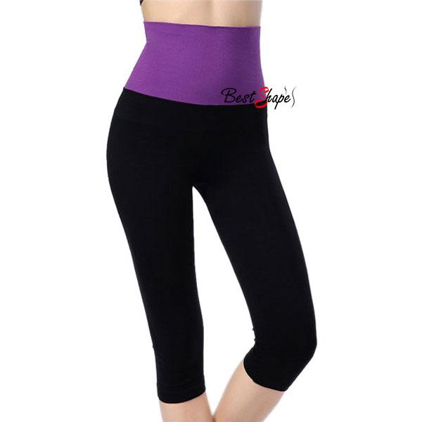 กางเกงออกกําลังกายผู้หญิง-เลกกิ้งออกกำลังกาย-ขา-5-ส่วน-สีม่วง_5LEGSPTPUR_1