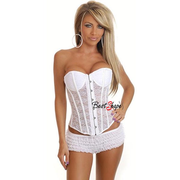 คอร์เซ็ท-Corset-สำหรับเจ้าสาว-สีขาว-ซีทรู-สุดเซ็กซี่_CS13010_1