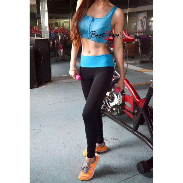 สปอร์ตบรา-Sport-Bra-เล่นฟิตเนต-วิ่ง-โยคะ-ยืดตัว-Level4-สีฟ้า_SPTZIPBLU_1
