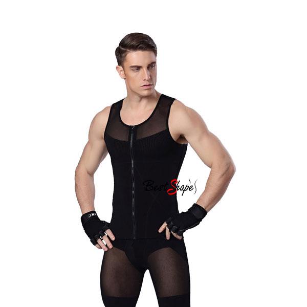เสื้อกระชับสัดส่วนผู้ชาย-รุ่น-Waist-&-Chest-Trimmer_MSH-IBT-MVZM-01-B_3