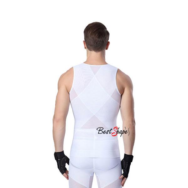 เสื้อกระชับสัดส่วนผู้ชาย-รุ่น-Waist-&-Chest-Trimmer_MSH-IBT-MVZM-01-W_4
