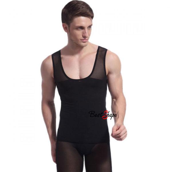 เสื้อกล้ามกระชับสัดส่วนผู้ชาย-ลดพุง-วิธีลดหน้าท้อง-รุ่น-Double-Layer_MVM14027-B_1