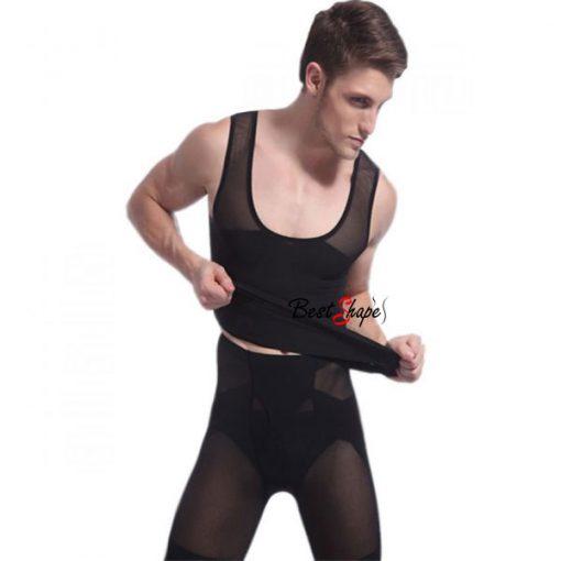 เสื้อกล้ามกระชับสัดส่วนผู้ชาย-ลดพุง-สลายไขมันหน้าท้อง