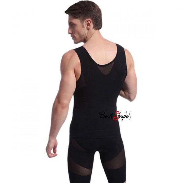 เสื้อกล้ามกระชับสัดส่วนผู้ชาย-ลดพุง-วิธีลดหน้าท้อง-รุ่น-Double-Layer_MVM14027-B_4