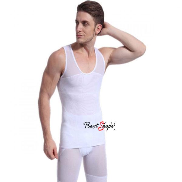 เสื้อกล้ามกระชับสัดส่วนผู้ชาย-ลดพุง-วิธีลดหน้าท้อง-รุ่น-Double-Layer_MVM14027-W_2