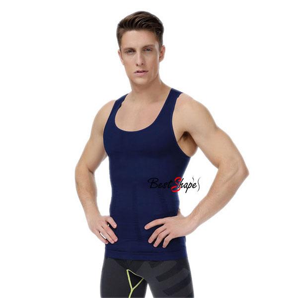 เสื้อกล้ามผู้ชาย-เก็บพุง-ชุดกระชับสัดส่วนผู้ชาย-รุ่นซิกแพ็ค_MSIXPK-BL_1