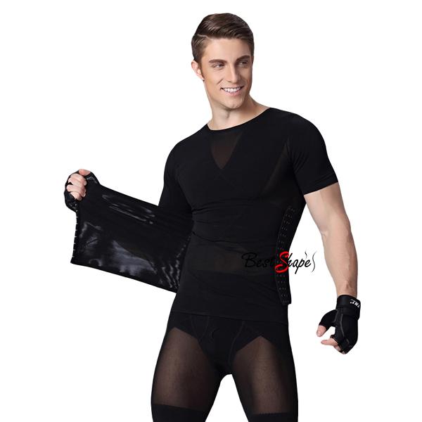 ชุดกระชับสัดส่วนชาย-ชุดกระชับสัดส่วน-เสื้อกระชับสัดส่วน