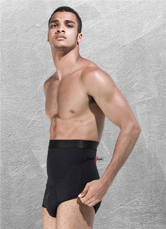 กางเกงกระชับหน้าท้อง ต้นขา สะโพก ผู้ชาย รุ่น Short Cool Fitness สีดำ - 2